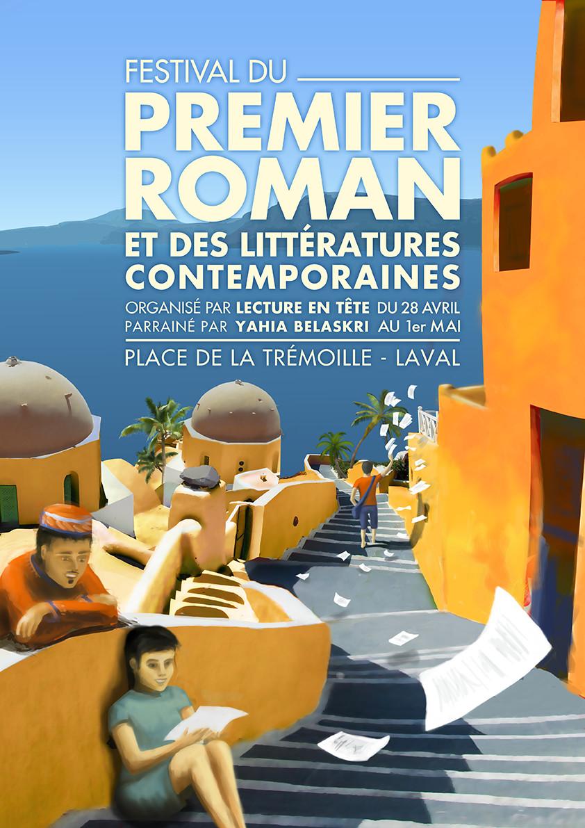 Festival du Premier Roman et des Littératures contemporaines 2016 - Laval