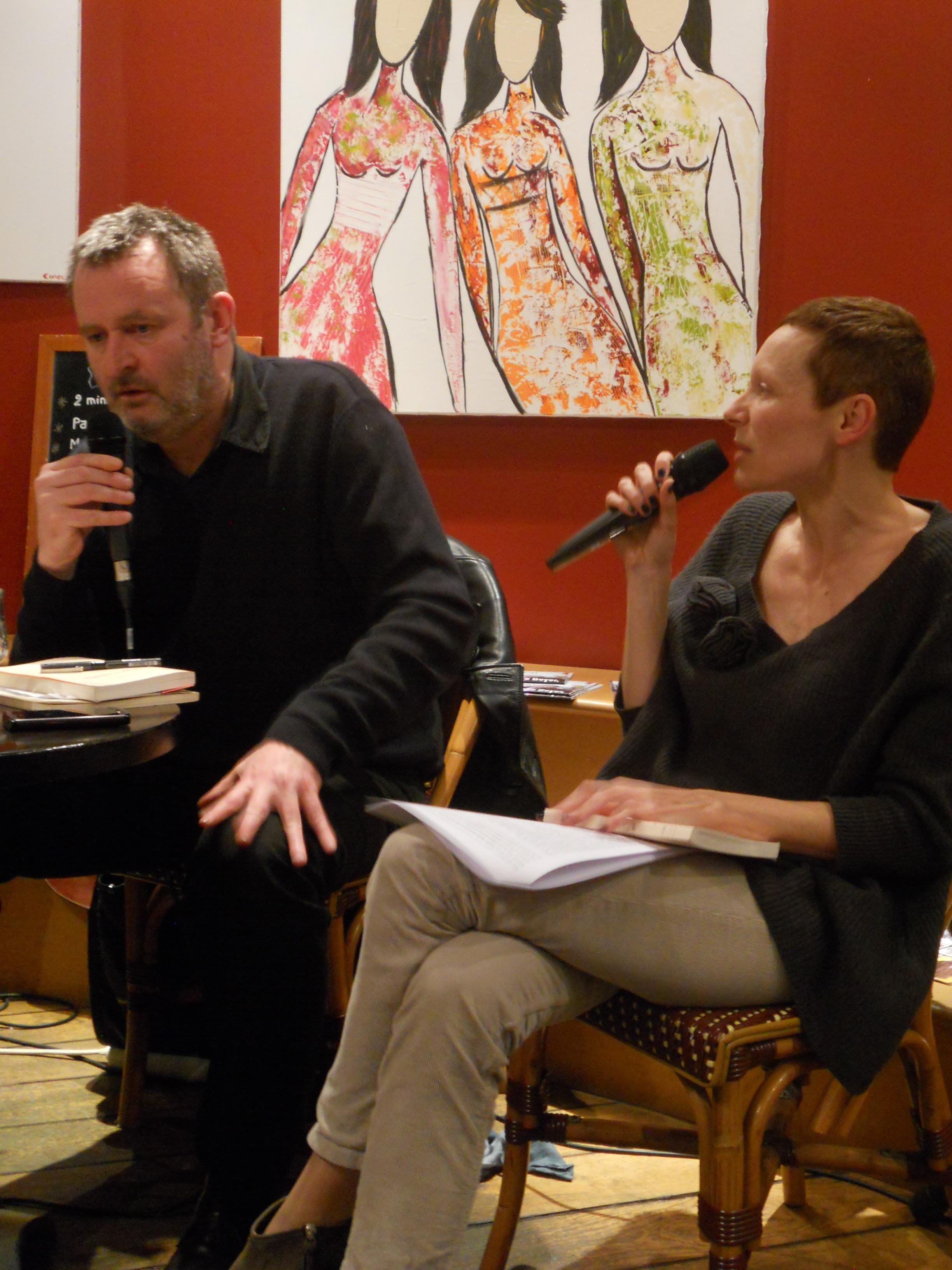 Céline Bénabès avec Velibor Colic