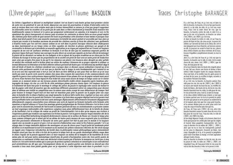 dissonances - pages intérieures