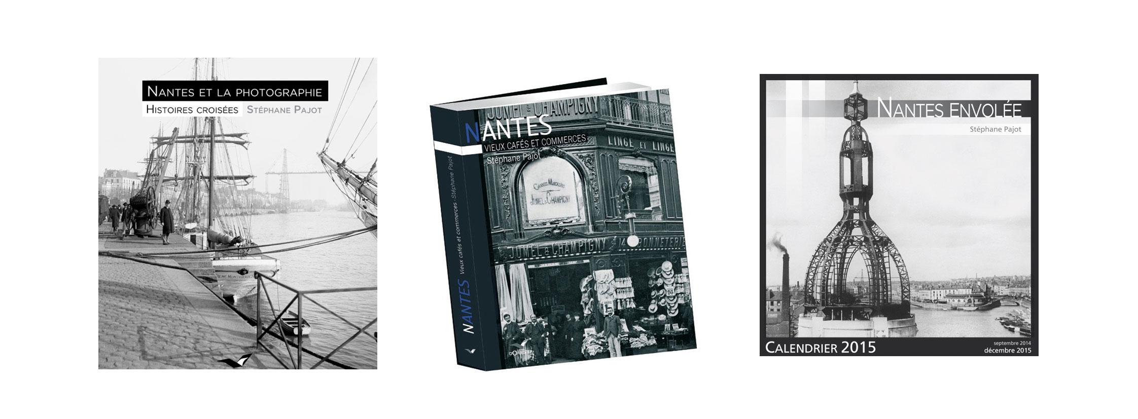 Les ouvrages nantais de S.Pajot chez D'Orbestier