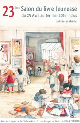 23 salon du livre jeunesse de cou ron dition 2016