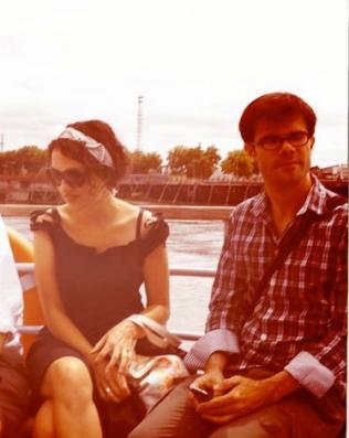 Sophie Merceron et Mathieu Simonet
