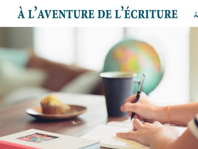 A l'aventure de l'écriture