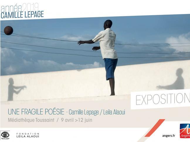 Une fragile poésie - Hommage à Camille Lepage et leïla Alaoui