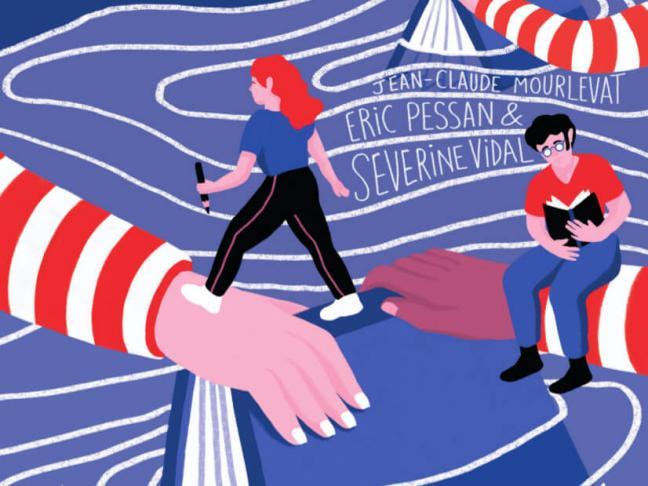 Rencontre avec Séverine Vidal - Le livre fait le pont