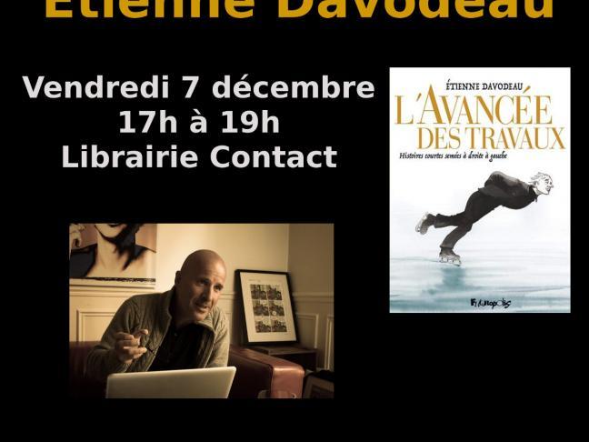 Etienne Davodeau en dédicace à la librairie Contact!