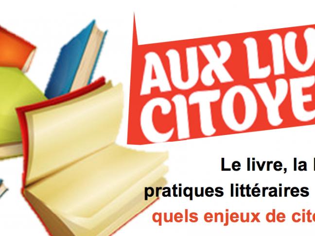 [COLLOQUE] - Aux livres citoyens !