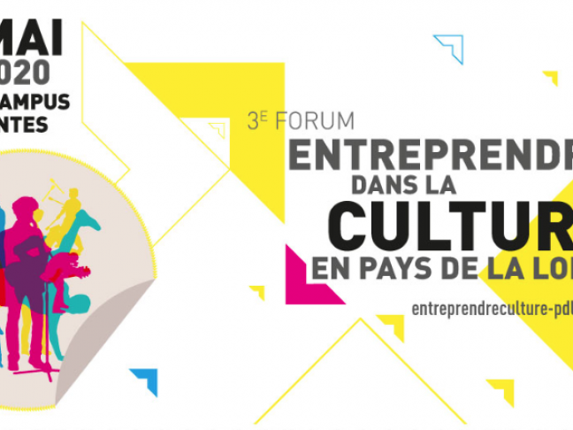 ANNULÉ // Forum Entreprendre dans la culture - Nantes