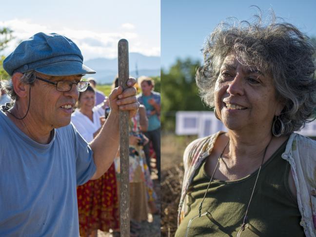 Rencontre avec Ruth Stegassy et Jean-Pierre Bolognini autour de leur livre sur le blé