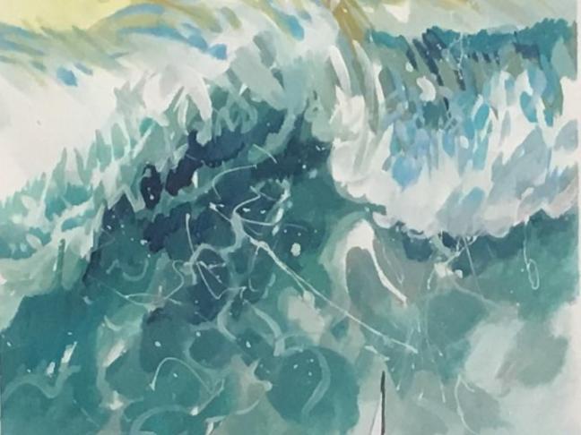 Exposition de planches originales de la BD Arthur Cravan de Jack Manini