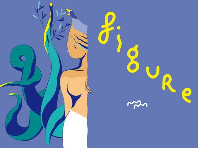 Figures . 12 dessins de Matthieu Méron