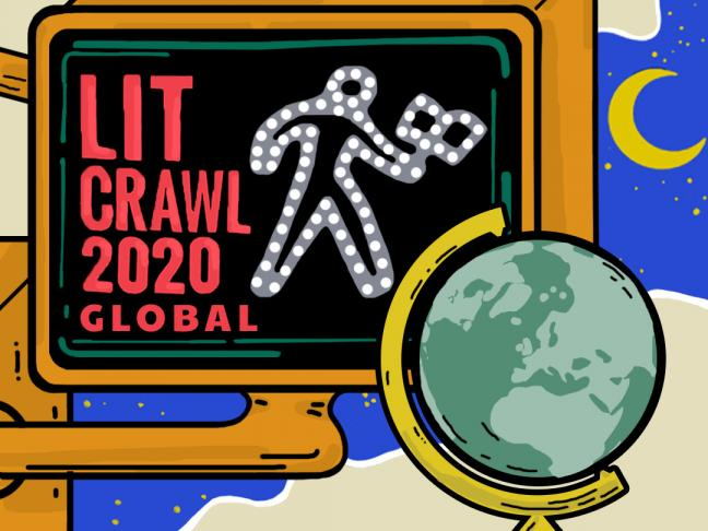 Lit Crawl comes to Angers, France...online!