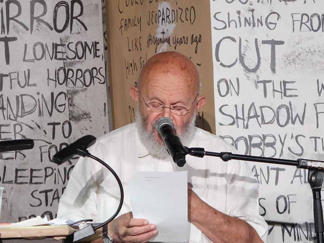Jim Dine, lecture-installation bilingue