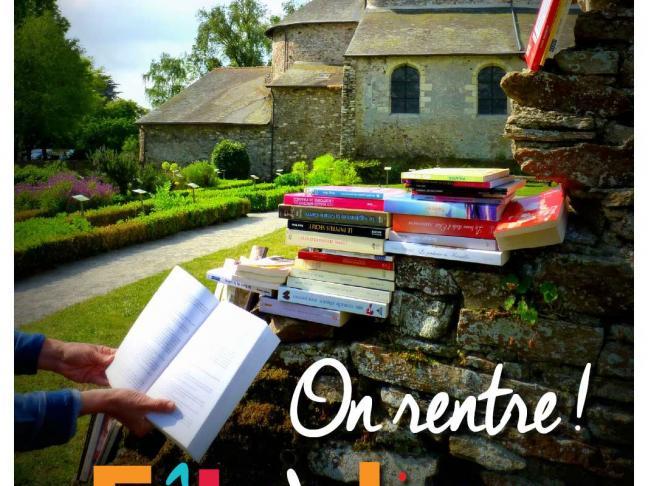 On rentre ! - Fête du livre à Saint-Philbert de Grandlieu