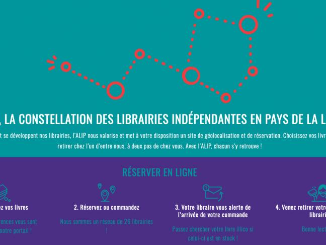 [COVID-19] Communiqué de l'ALIP, association des libraires en Pays de la Loire
