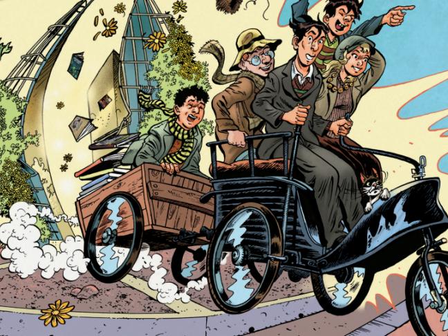 Arnage : Journée professionnelle Bande dessinée