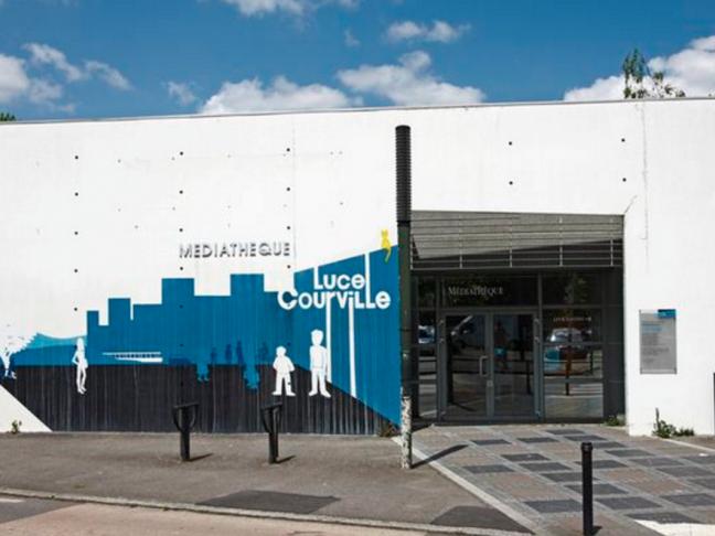 Médiathèque Luce Courville - Nantes