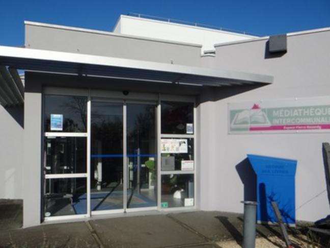 Médiathèque intercommunale de Sablé-sur-Sarthe - Espace Pierre Reverdy
