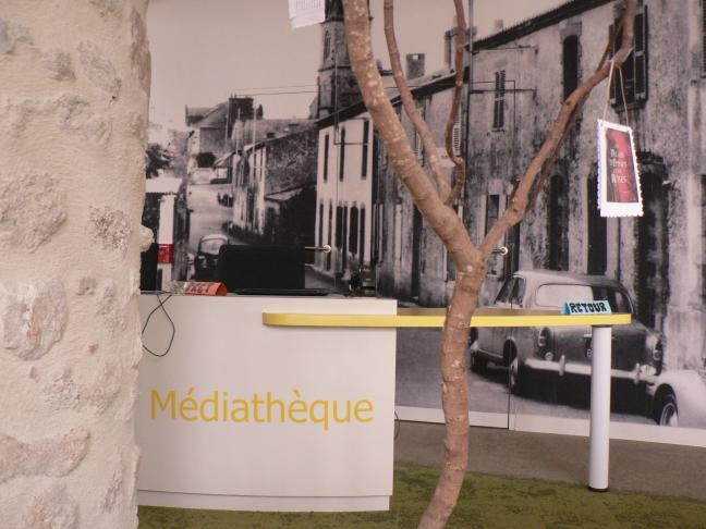 Médiathèque de la Bernardière - La Caserne aux livres