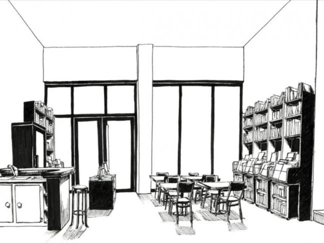Rencontre avec Martina Pacifici, future gérante du café-librairie Les Boucaniers.