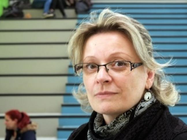 Evelyne Darmanin, enseignante en métiers du livre