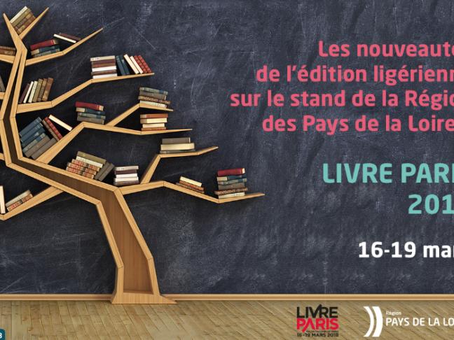Les éditeurs ligériens à Livres Paris