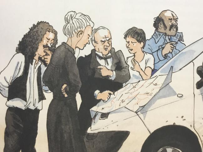 La balade nationale, de Sylvain Venayre et Étienne Davodeau