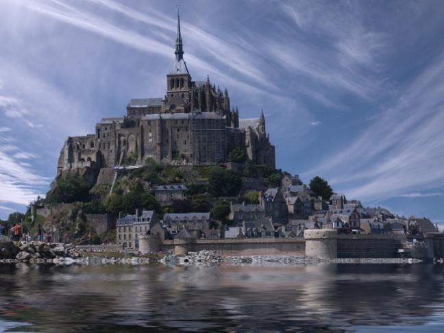 Les Enquêtes de Ninon et Paul : Sabotage au Mont Saint-Michel, de Chantal Cahour