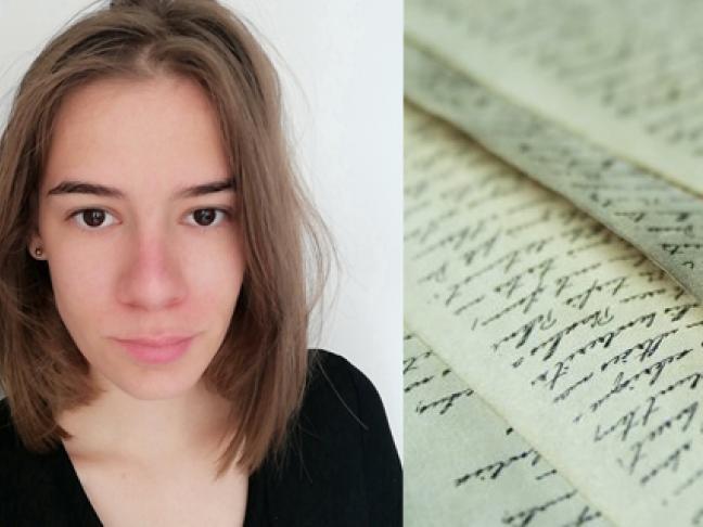 Manon Hue, une catalogueuse volante pour signaler les manuscrits en Pays de la Loire