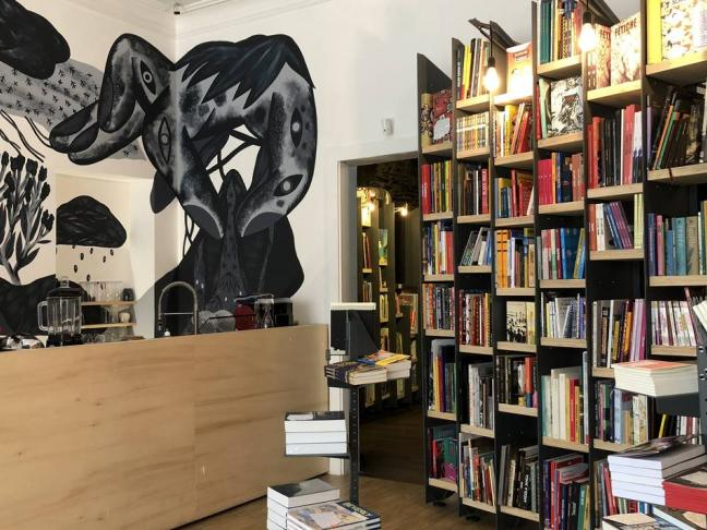 La librairie Myriagone à Angers