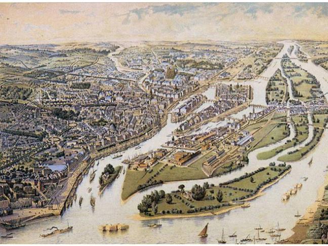 Nantes, histoires d'eau, de Stéphane Pajot