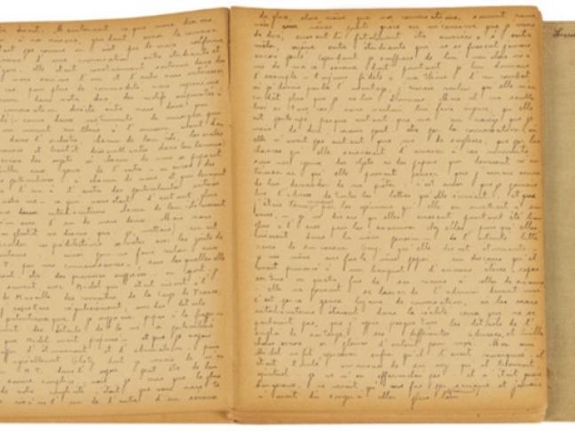 La Région Pays de la Loire acquiert aux enchères le premier manuscrit de Julien Gracq