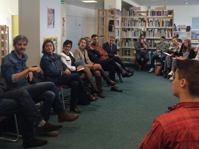 Prix littéraire des lycéens et apprentis des Pays de la Loire - édition 2015/2016