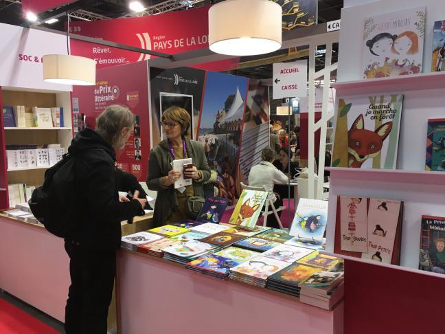 Les éditeurs des Pays de la Loire à Livres Paris