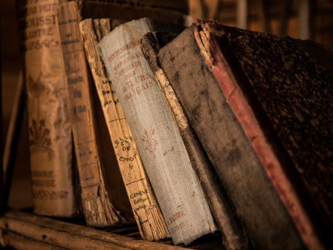 Fonds de littérature en patois angevin