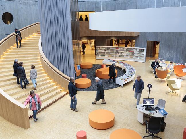 Chef de service Lecture publique - Bibliothèque Oscar Niemeyer - Le Havre (76)