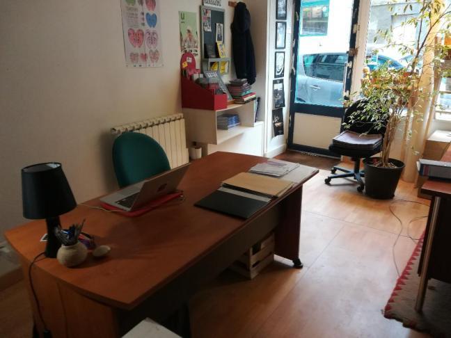 Bureau en co-working