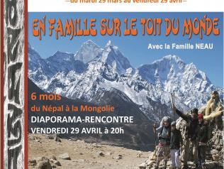 """Exposition """"En famille sur le toit du monde"""""""
