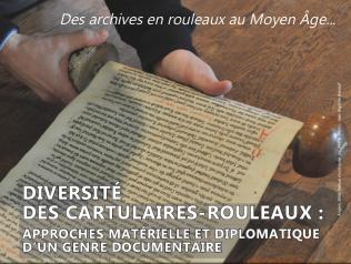 Des archives en rouleaux au Moyen Âge