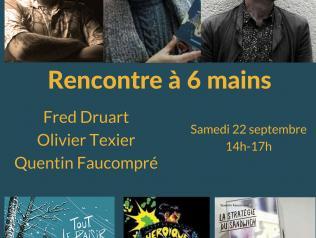 Rencontre avec Fred Druart, Olivier Texier et Quentin Faucompré