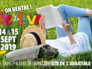 On rentre (fête du livre à Saint-Philbert-de-Grandlieu)