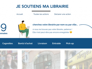 [COVID-19] Je soutiens ma librairie
