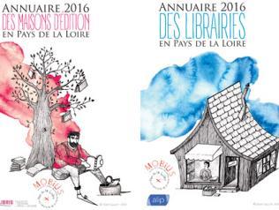 Annuaire 2016 des maisons d'édition et des librairies en Pays de la Loire