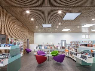 Bibliothèque Nelson Mandela - Angers