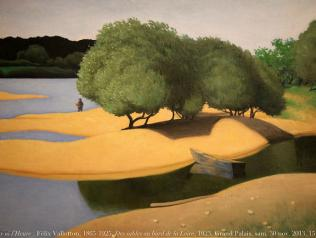 Félix Vallotton, 1865-1925, Des sables au bord de la Loire, 1923