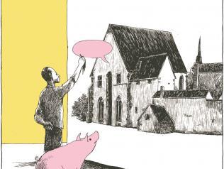 image de fin de la résidence, par Sébastien Vassant