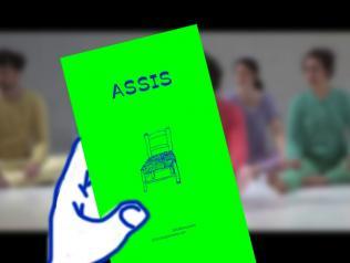 ASSIS : Un livre d'artiste, une histoire de danse.