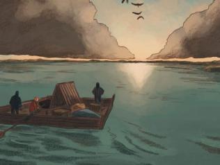 Sur les ailes du monde, Audubon, de Fabien Grolleau et Jérémie Royer