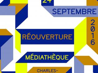 Réouverture de la médiathèque Hermeland à Saint-Herblain !