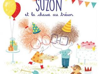 Suzon et la chasse au trésor, d'Émilie Chazerand et Amandine Piu